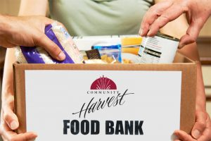 Donations for Community Harvest Food Bank