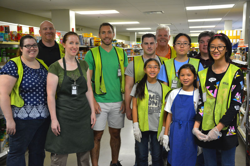 Community Harvest Food Bank Volunteers